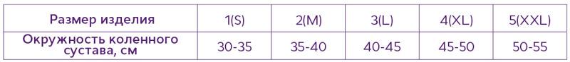 "Бандаж Т-8508 ""ТРИВЕС"", на коленный сустав разъемный с полицентрическими шарнирами Размер (S,M,L,XL,XXL)"