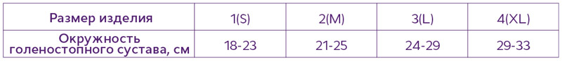 """Т-8609 Бандаж компрессионный на голеностопный сустав БГКСС """"ТРИВЕС"""" (с пластинами)"""