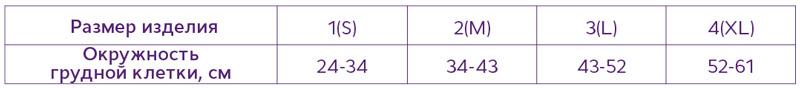 "Бандаж фиксирующий на тазобедренный сустав БФТБС - ""Тривес"", Т-8404"